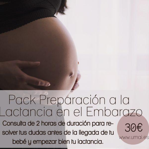 preparación lactancia embarazo